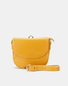 Blackcherry Bag  Multi-Way Crossbody Bag Mustard