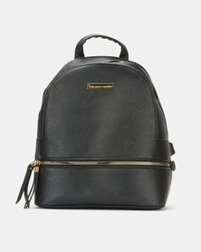 Blackcherry Bag Minimal Backpack Black