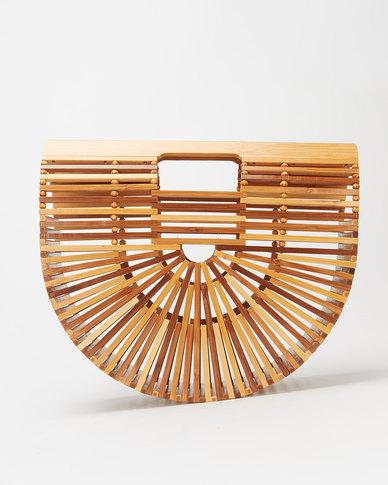 Blackcherry Bag Bamboo Vacay Handbag Multi-coloured