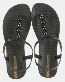 Ipanema Class Glam II Fem Sandals Black