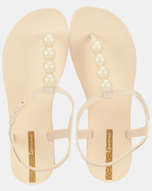Ipanema Class Glam II Fem Sandals Beige