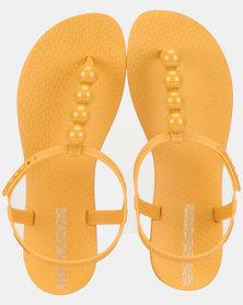 Ipanema Class Glam II Fem Sandals Yellow/Cream