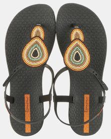 Ipanema Class III Fem Sandals Black/Green