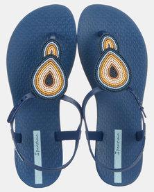 Ipanema Class III Fem Sandals Blue/Beige