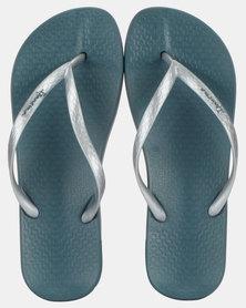 Ipanema  Anatomica Tan Fem Sandals Blue/Silver