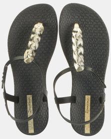 Ipanema Charm VI Sand Fem Sandals Black/Gold