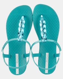 Charm VI Sand Fem Sandals Green