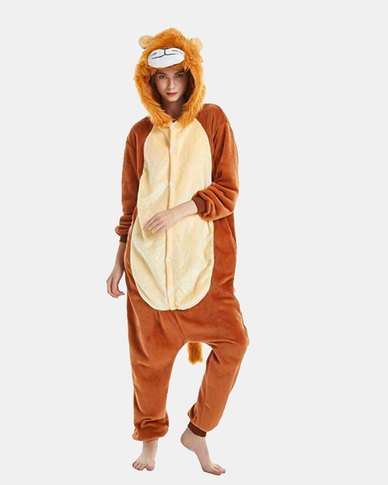 Iconix Lion Styled Onesie for Adults