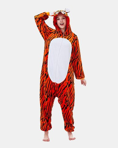 Iconix Tiger Styled Onesie for Adults
