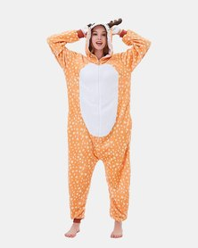 Iconix Reindeer Styled Onesie for Adults