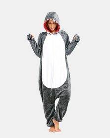 Iconix Shark Styled Onesie for Adults