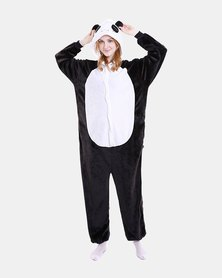 Iconix Panda Styled Onesie for Adults