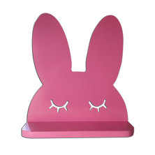 Tonewood Crafters Bunny Wall Shelf Pink