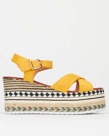 Dolce Vita Refine Wedges Mustard