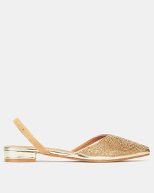 Dolce Vita Attraction Sandals Gold