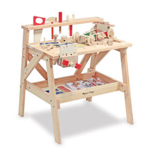 Melissa and Doug Wooden Project Solid Wood Workbench