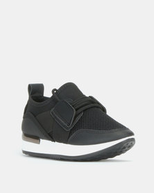 K-Star 7 Girls Fendi Sneakers Black