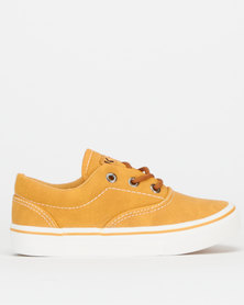 K-Star 7 Star Boys CVO Grip Lo Sneakers Mustard
