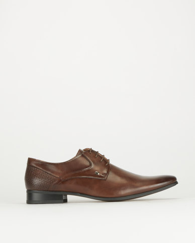Gino Paoli Lace Up Shoes Brown