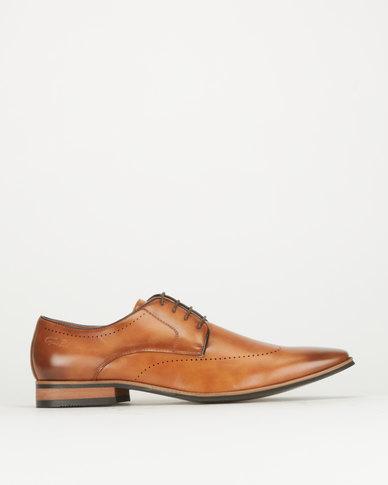 Gino Paoli Calf Light Formal Shoes Tan