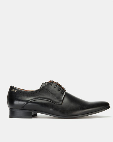 Gino Paoli Buffalo Formal Lace Up Black