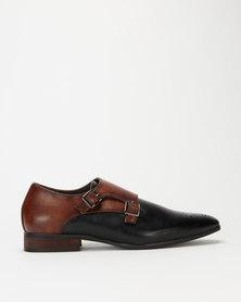 Mazerata Magio 39 Formal Slip Ons Black
