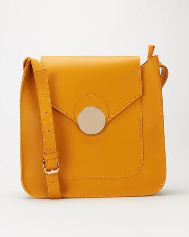 Utopia Crossbody Bag Mustard