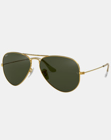 Ray-Ban Aviator Classic Sunglasses Gold