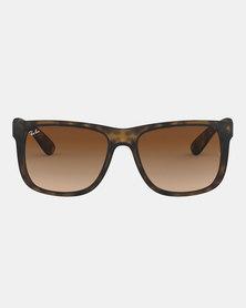 Ray-Ban Justin Classic Sunglasses Havana