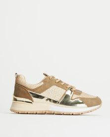 Tom_Tom TT-L Nova Glitter Sneakers Gold
