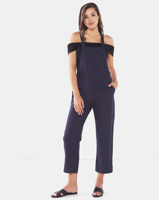 All About Eve Vintage Everyday Overall Navy