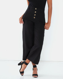 All About Eve Vintage Worker Pants Black
