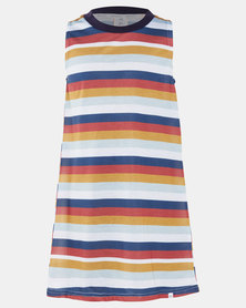 Rip Curl Teen Girls Teen Island Lovin Stripe Dress Multi