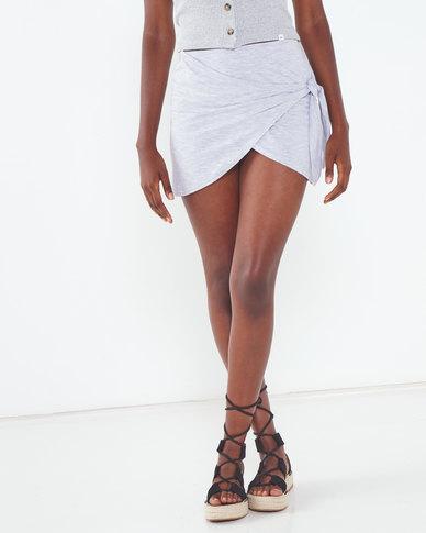 Rip Curl Soft Wrap Skirt Grey
