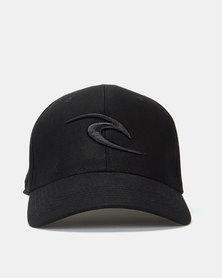 Rip Curl Tepan Curve Peak Cap Black