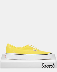 Vans AU Authentic Classics Vibrant Yellow