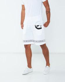 ECKÓ Unltd Unltd Shorts White