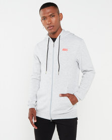 ASICSTIGER AHQ At FT FZ HD Hoodie Grey