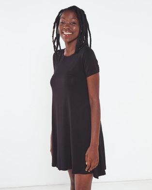 Utopia A-line Dress Black