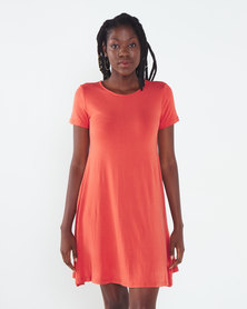 Utopia A-line Dress Salmon