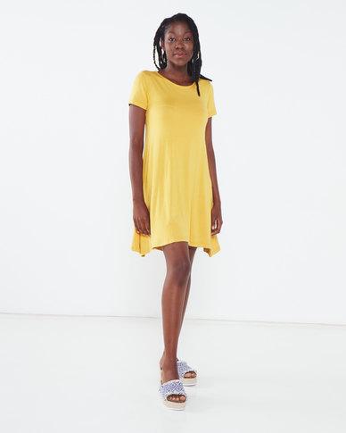 Utopia A-line Dress Mustard