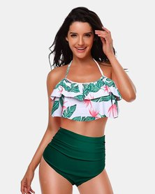 Iconix Mother Matching Swimsuit - Green