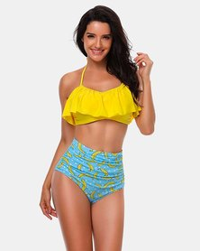 Iconix Mother Matching Swimsuit - Yellow