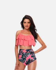 Iconix Mother Matching Swimsuit - Peach