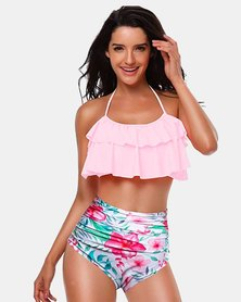 Iconix Mother Matching Swimsuit - Pink