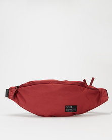Hurley Solid Scout Hip Pack Waistpacks Red