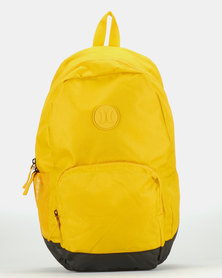 Hurley Solid Blockade II Backpack Yellow