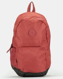 Hurley Solid Blockade II Backpack Maroon