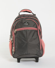 Playground Trolley Backpack Grey/Pink