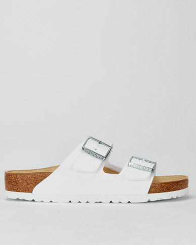 Birkenstock Arizona Core 2 Strap Slide White